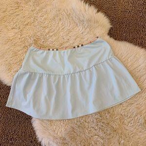 Burberry Baby Blue Skirt